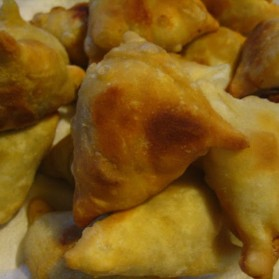 Samosas from Muktiskitchen.com