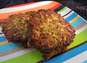 Indian squash fritters