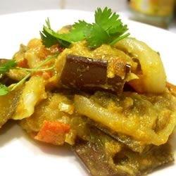 Eggplant Masala at Mukti's Kitchen