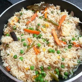 Vegan Vegetable Pulao