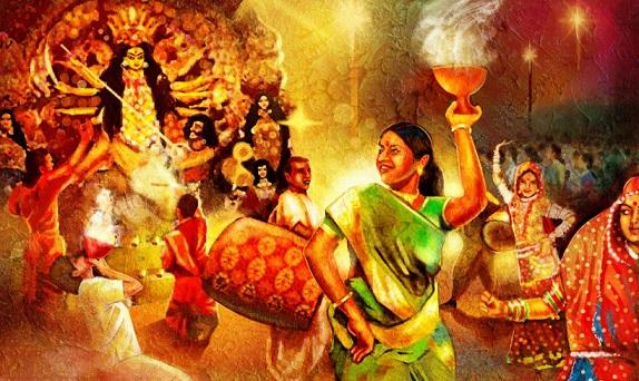 Durga Puja art 2