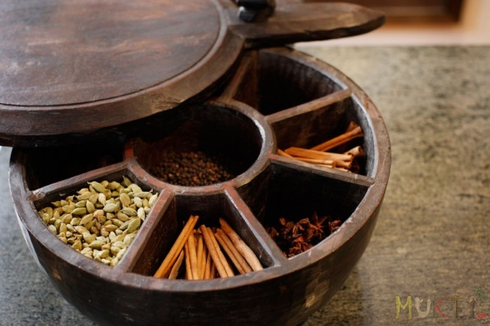 Indian Spice Box - Muktiskitchen.com