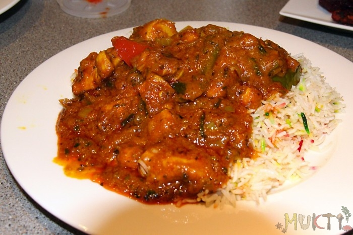 Indian Chicken Curry - Muktiskitchen.com
