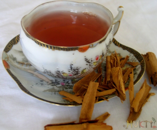 Cinnamon Tea - Muktiskitchen.com
